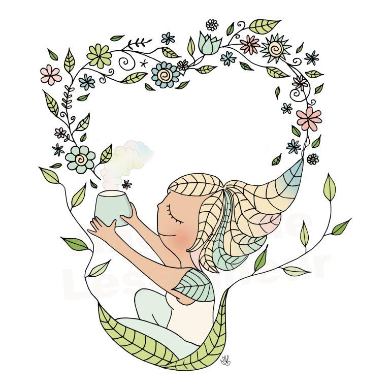 illustration huiles essentielles naturopathe  rouen