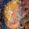 Tableau décoration murale cabinet bien-être illustrait angélique Leseigneur oracle