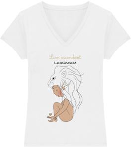 Tee shirt Lion signe astrologique